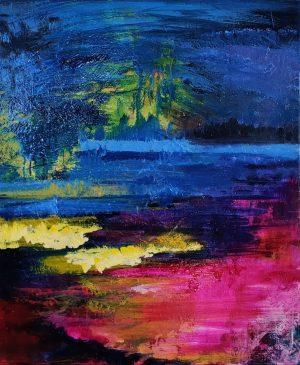 Akryyli- ja öljymaalaukset